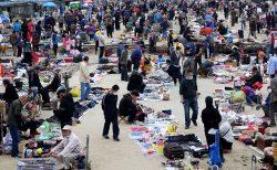 中国の露店経済