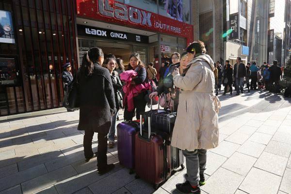 春節に来る中国人観光客
