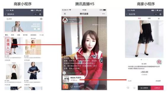 WeChatのライブ配信広告